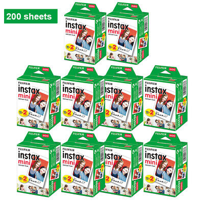 Fujifilm Instax White Film Instant 400 sheets for Fuji Mini 8/ 9 /7s/25/90 H9L3
