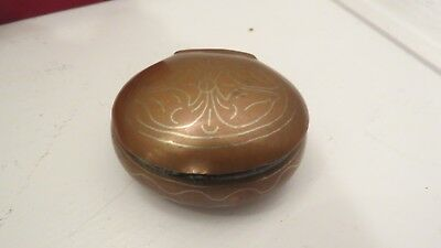 Arts and Crafts  copper and silver box hand made