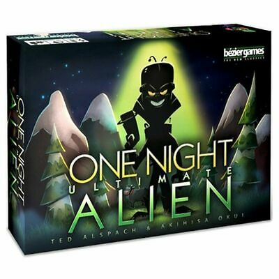 One Night Ultimate Werewolf Party Expansion Bonus Family Game