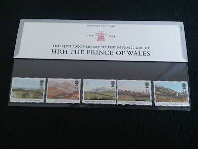 GB Royal Mail Presentation Pack 245 HRH The Prince of Wales 1994