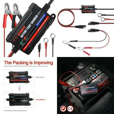 MICTUNING Battery Charger & Maintainer,6V 12V Intelligent Fully Automatic...