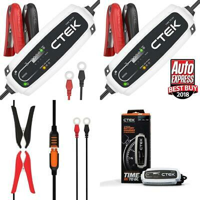 CTEK CT5 Time to Go Fully Automatic Battery Charger with a countdown display...