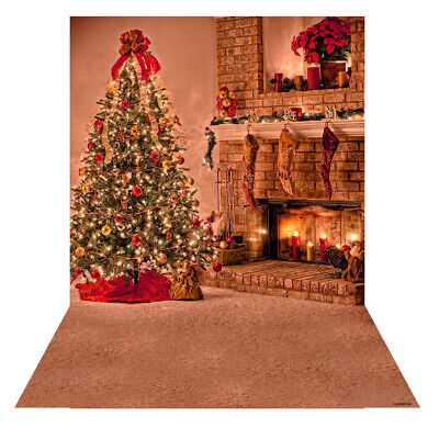 Andoer 1.5 * 2m Photography Background Backdrop Digital Printing Christmas X2H8