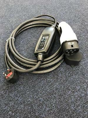 EV Charging Cable, Type 2 5m, UK plug, BMW 330e
