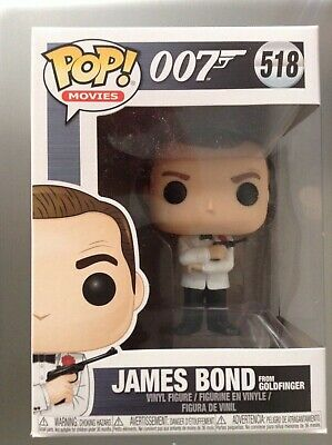 Figurine James Bond 007 Sean Connery /& Aston Martin Rides Pop 15cm