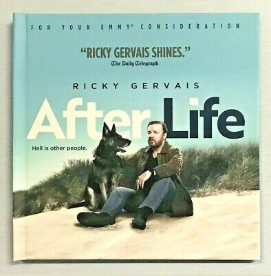 New AFTER LIFE Ricky Gervais Season 1 Netflix Comedy Series Emmy FYC DVD