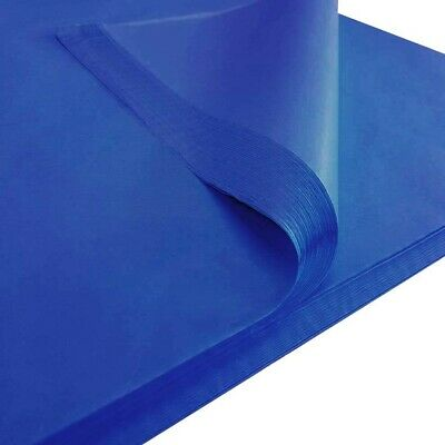 Large Tissue Paper Blue 48 Sheets Clairefontaine Quality 50 x 75 cm Brand New