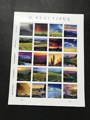Scott#5298 O BEAUTIFUL 2018 /SHEET Of 20 FOREVER STAMPS MNH(100 Sheets)