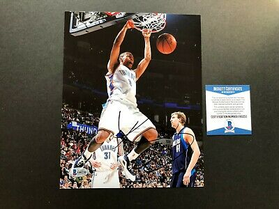 Russell Westbrook Rare! signed autographed OKC 8x10 photo Beckett BAS coa