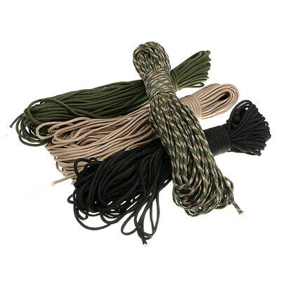 100Ft 550 Paracord Lanyard Rope Mil Spec Type III 7 strand Parachute Cord Hiking