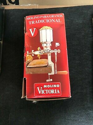 Victoria Brand Grain Mill. Traditional Style Grain Mill. Used One Time!