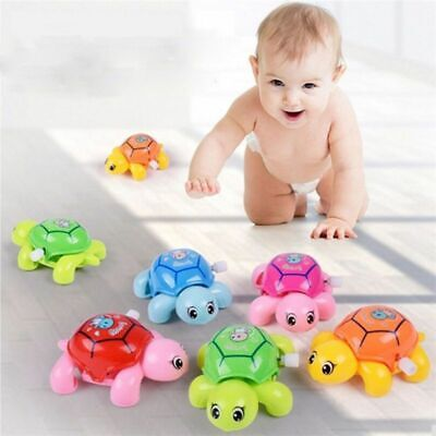 Crawling Turtle Toy Gift Swimming Small Educational Wind Up Baby Kids Animal