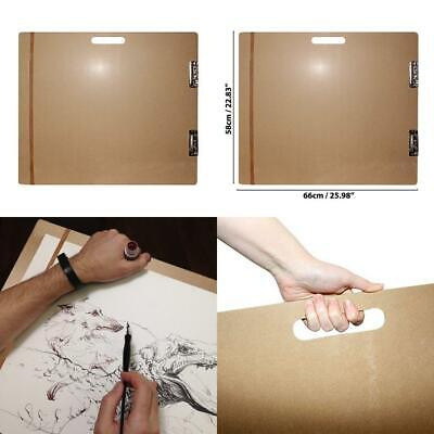 Large Artists Wooden Sketch Tote Board - Drawing Clipboard with Large...