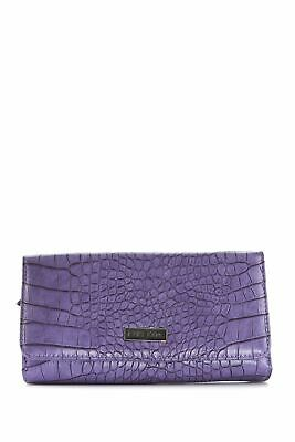 New Laura Jones Croc Large Large Womens Purse Wallet by-Strandbags