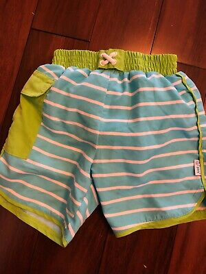 f51caaa3ea iplay Boys Pocket Swimming Trunks with Reusable Swim Diaper, 18 months