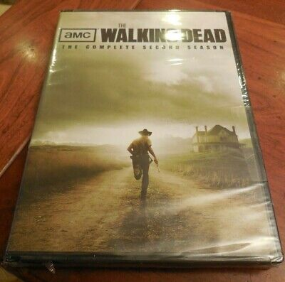 The Walking Dead: The Complete Second Season (DVD, 2012, 4-Disc Set) NEW SEALED