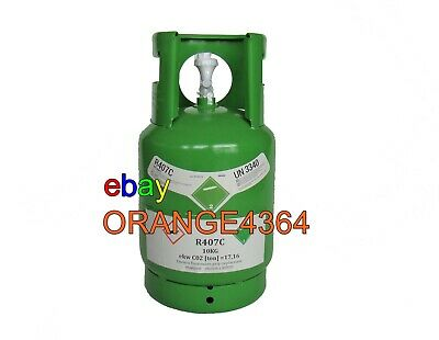 R407c 10kg Virgin Refrigerant Gas