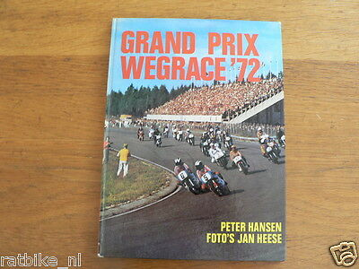 1972 Grand Prix Wegrace 72 Uitgave Peters Road Race Rennstrecke Jarno Saarinen