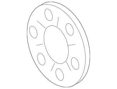 2003-2010 Ford Super Duty OEM Auto Trans Front Pump Gasket 3C3Z-7A136-AA