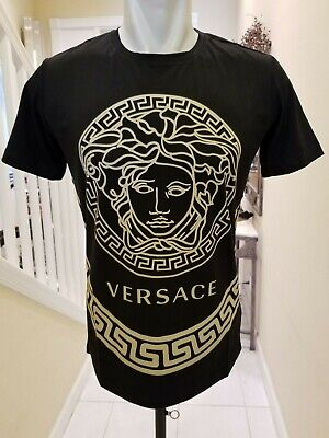875e60bc VERSACE NEW TAG and Medusa Pillow Red Gold Fringed Silk VERSACE ...