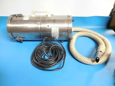 Tiger-Vac MV-1CR (HH) 0.5 Gallons Cleanroom Vacuum, Dry Recovery
