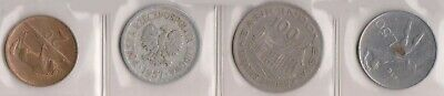 (H142-21) Mix of 4 world coins (U)