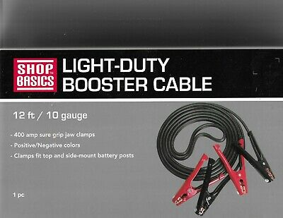 Shop Basics Light-Duty Booster Cable