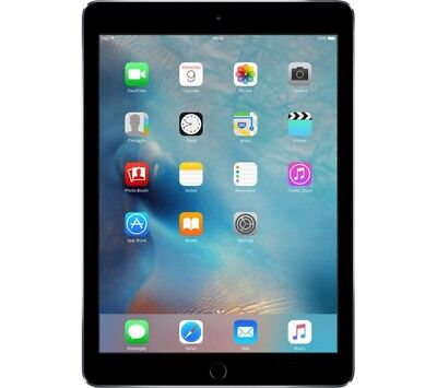 Apple iPad Air 2 16GB, Wi-Fi, 9.7in - Space Gray Bundle - Tested - Works A1566