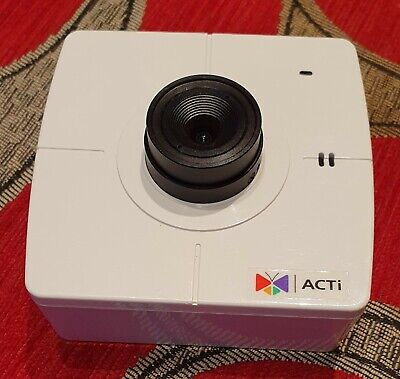 ACTi TCM-4511 H.264 Mega Pixel IP security Camera Cube White PoE