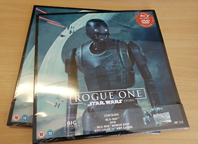 Blu-Ray-Rogue One - A Star Wars Story (Big Sleeve Editio (UK IMPORT) BLU-RAY NEW