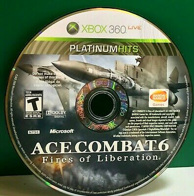 Ace Combat 6: Fires of Liberation (XBOX 360) DISC ONLY 20691