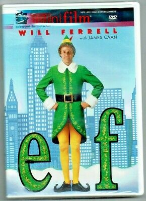 ELF (Infinifilm Edition) DVD BRAND NEW SEALED , COMEDY RATED PG