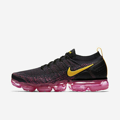 "a3e09210f23a1 Men s Nike Air Vapormax Flyknit 2 ""Pink Blast"" Size-10.5 Orange (942842"