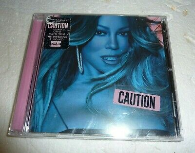 CAUTION  by Mariah Carey  (CD, 2018) NEW - The New Album S-2