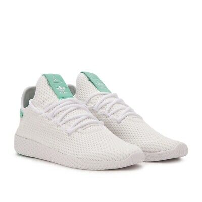 199cc44206950 adidas PW Tennis HU Pharrell Human Race White Green BY8717 Sz 8.5   8  MISMATCHED