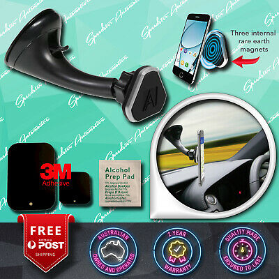 New! Aerpro Magnetic Cell Iphone Holder Car Windscreen Strong Suction Cup Mount