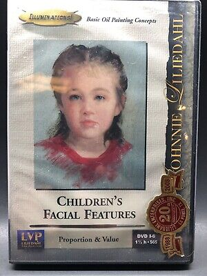 Johnnie Liliedahl: Children's Facial Features - Art Instruction DVD - New Sealed