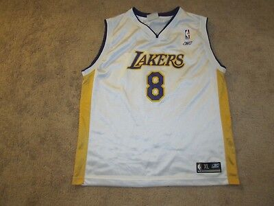 online retailer b8059 00a43 YOUTH LOS ANGELES Lakers Kobe Bryant M (10/12) Jersey ...