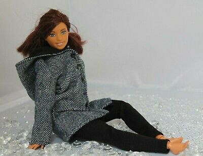 Hooded Coat and Leggings for Dolls. #016 Clothes for Barbie Doll