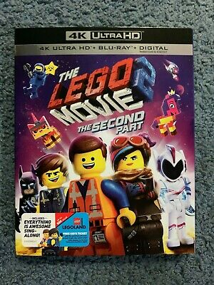 The Lego Movie 2 - The Second Part on 4K Ultra HD + Blu-ray + Digital