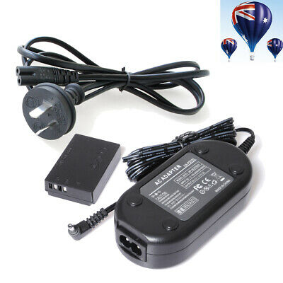ACK-E12 AC Power Charger Adapter + DR-E12 For CANON EOS M M2 EOS-M EOSM Cameras