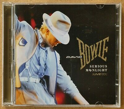 David Bowie - Serious Moonlight (Live '83) (2018 Remastered) 2 CD Like New