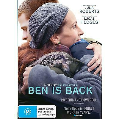 Ben Is Back Dvd, New & Sealed, 2019 Release, Free Post, Pre Release.