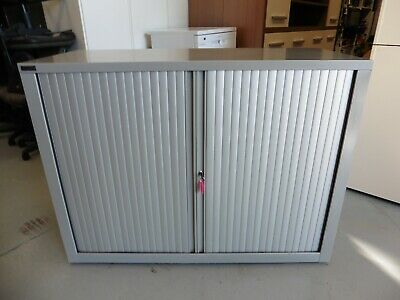 Office 1200Mmsteel Tambour Cabinet Brisbane
