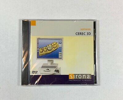 Sirona CEREC 3D Software Version 3.60 (Dongle not included)