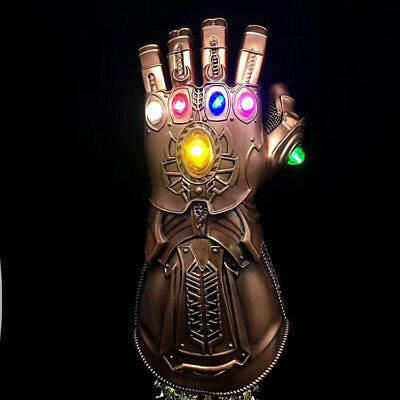 US! Figure & LED Light Thanos Infinity Gauntlet Legends Gloves Avengers Endgame