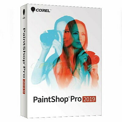 Corel PaintShop Pro 2019 Win 1PC License GST Inv.