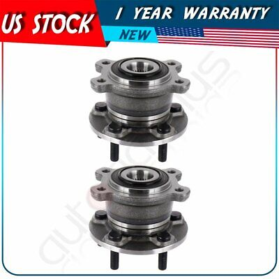 Pair: 2 Rear Left or Right Wheel Hub Bearing Assembly Fits 2015-2018 Lincoln Mkc