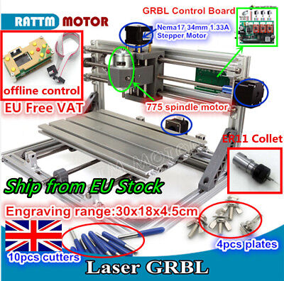 OFFLINE HAND CONTROLLER Manual Control for GRBL Control Laser