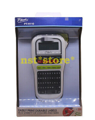 Applicable for PT-H110 US version of the handheld portable English label printer